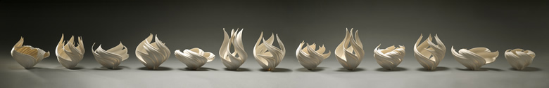 Jennifer McCurdy Flame Vessel Study Photo by Gary Mirando